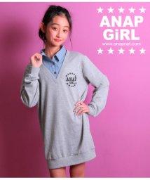 ANAP GiRL/フェイクシャツ付ワンピース/501339863