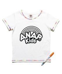 ANAP KIDS/サクラクレパス×ANAPKIDS 塗り絵ペン付Tシャツ/501340611
