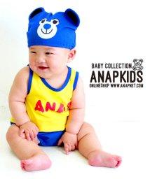 ANAP KIDS/帽子付キャラクターロンパース/501340612