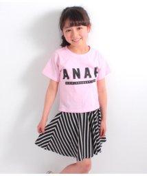 ANAP KIDS/Tシャツ+ナナメストライプスカートSET-UP/501341290