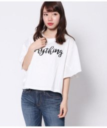 Factor=/ロゴワイド切替Tシャツ/501342099