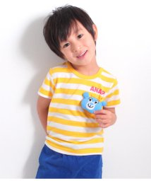 ANAP KIDS/キャラクターぬいぐるみ付きTシャツ/501342338