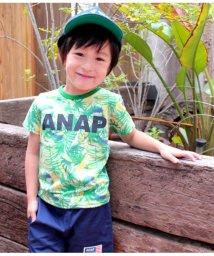 ANAP KIDS/リーフ総柄Tシャツ/501342339