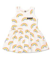 ANAP KIDS/レインボー総柄ワンピース/501342350