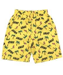 ANAP KIDS/フラミンゴ×ヤシの木柄スイムウエアパンツ/501343261