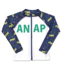 ANAP KIDS/フラミンゴ×ヤシの木柄ラッシュガード/501343262