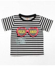 ANAP KIDS/ハートサングラスプリントTシャツ/501343270