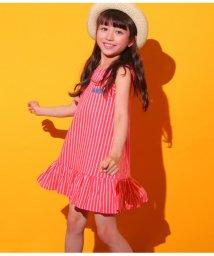 ANAP KIDS/ストライプ柄裾フリルワンピース/501343898
