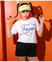 ANAP GiRL/トップスドットショートパンツセット/501344185