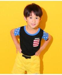 ANAP KIDS/フラッグパターンTシャツ/501344413