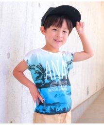 ANAP KIDS/ヤシの木グラデーションTシャツ/501344415