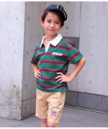 ANAP KIDS/ラガーシャツ/501344417