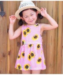 ANAP KIDS/ひまわり柄ワンピース/501344424