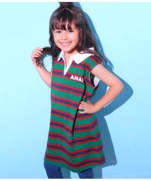 ANAP KIDS/ラガーシャツワンピース/501344427