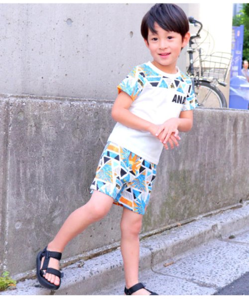 ANAP KIDS(アナップキッズ)/柄SETUP/0480300255