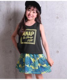ANAP KIDS/リーフ柄ワンピースセットアップ/501344431