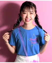 ANAP GiRL/星筆記体ロゴTシャツ/501344679