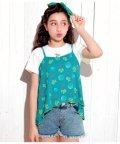 ANAP GiRL/オリジナルシェル柄Tシャツ&キャミソールSET/501344690