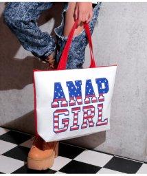 ANAP GiRL/アメリカロゴトートBAG/501345682