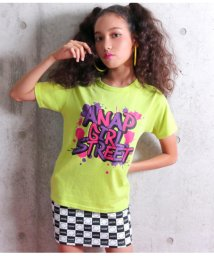 ANAP GiRL/グラフィティペイントTシャツ/501345689