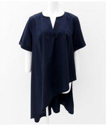 Settimissimo/フロントデザインロングシャツ/501345911