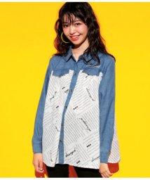ANAP GiRL/オリジナル英字プリントシャツ/501346256