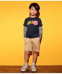 ANAP KIDS/袖切り替えTシャツ/501346511