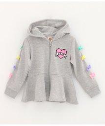 ANAP KIDS/袖リボン付フレアパーカー/501346526
