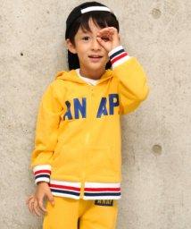 ANAP KIDS/ラインリブパーカー/501346528