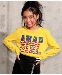 ANAP GiRL/アメリカロゴロンT/501346814