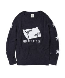 gelato pique/'ベビモコ'モチーフプルオーバー/501346995