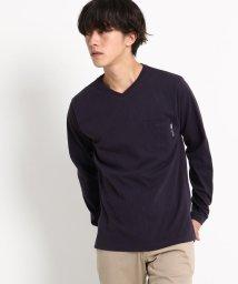BASECONTROL/長袖 Tシャツ Vネック WEB限定/501347075