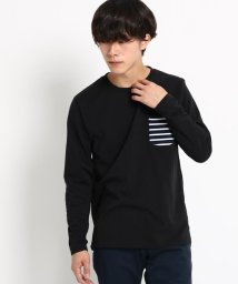 BASECONTROL/長袖 Tシャツ ポケット切り替え WEB限定/501347088