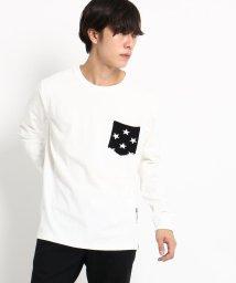 BASECONTROL/長袖 Tシャツ ニットポケット WEB限定/501347098