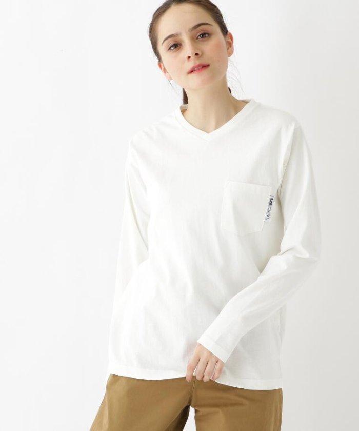 長袖 Tシャツ Vネック WEB限定 11251
