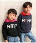 ANAP KIDS/配色フーディートップス/501347205