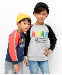 ANAP KIDS/レインボーラインロゴトレーナー/501347208