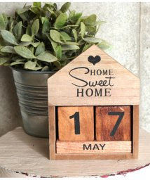 ANAP HOME/HOMEデザインウッドカレンダー/501347415