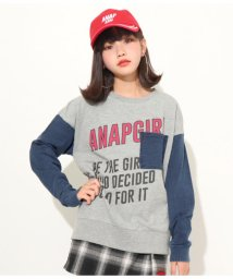 ANAP GiRL/カットデニム切替トップス/501347483