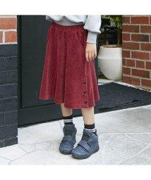 otonato/サイド釦スカートパンツ/501221409