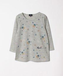 LANVIN COLLECTION/ウールプリントTシャツ/501271228