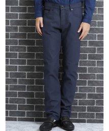 TAKA-Q/renoma HOMME (レノマ オム)ストレッチカルゼ5ポケットパンツ 紺/501303068