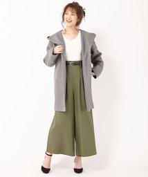 INGNI/ベルト付TRワイドパンツ/501309347