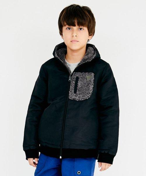 KRIFF MAYER(Kids)(クリフメイヤー(キッズ))/ひっくりパーカー(120~160cm)/KC1826650K