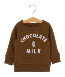 SHIPS KIDS/ARCH&LINE×SHIPS KIDS:チョコレート スウェット(80~90cm)/501349599