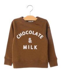 SHIPS KIDS/ARCH&LINE×SHIPS KIDS:チョコレート スウェット(100~130cm)/501349601