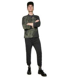 Desigual/「Desigual/デシグアル」ジップアップ厚手長袖ポロシャツ/501054406