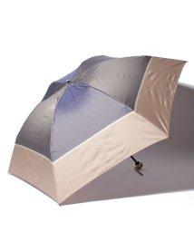 LANVIN Collection(umbrella)/婦人ミニポリエステルツイル先染ボーダー/501236792