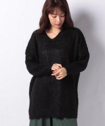 MARcourt/【mizuiro ind】V neck hairy tunic*/501312557