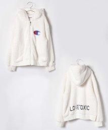 Lovetoxic/チャンピオンボアジップパーカー/501313777